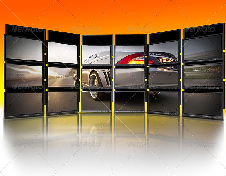 Tweak My Photo - Multi LCD Display