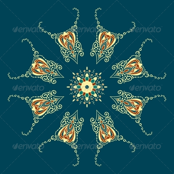 Ornate Vector Dragon Patterns - Backgrounds Decorative