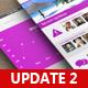 Universal Social Media UI APP - Retina Ready - GraphicRiver Item for Sale