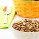 chocolate cornflakes and almonds muesli breakfast. - PhotoDune Item for Sale