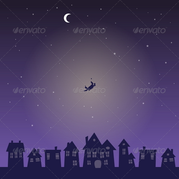 Falling from the Sky in the Middle of the Night - Miscellaneous Conceptual
