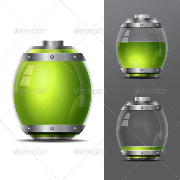 Concept-Battery Life. EPS10 - Web Elements Vectors
