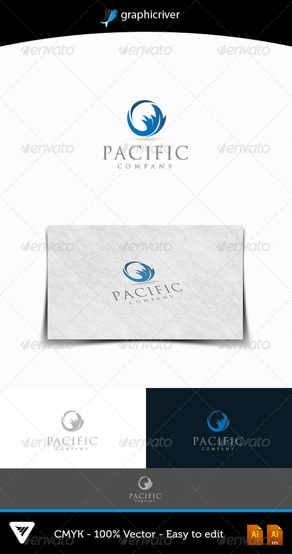 Pacific Logo - Logo Templates