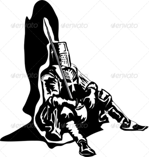 The Sitting Knight - People Characters