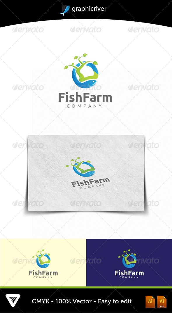 FISHFARM - Logo Templates