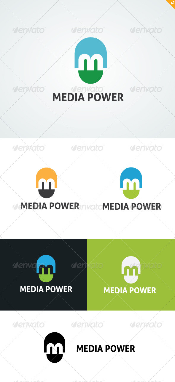 Media Power  - Letters Logo Templates