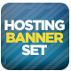 Web Hosting Banner Set with Animation - GraphicRiver Item for Sale