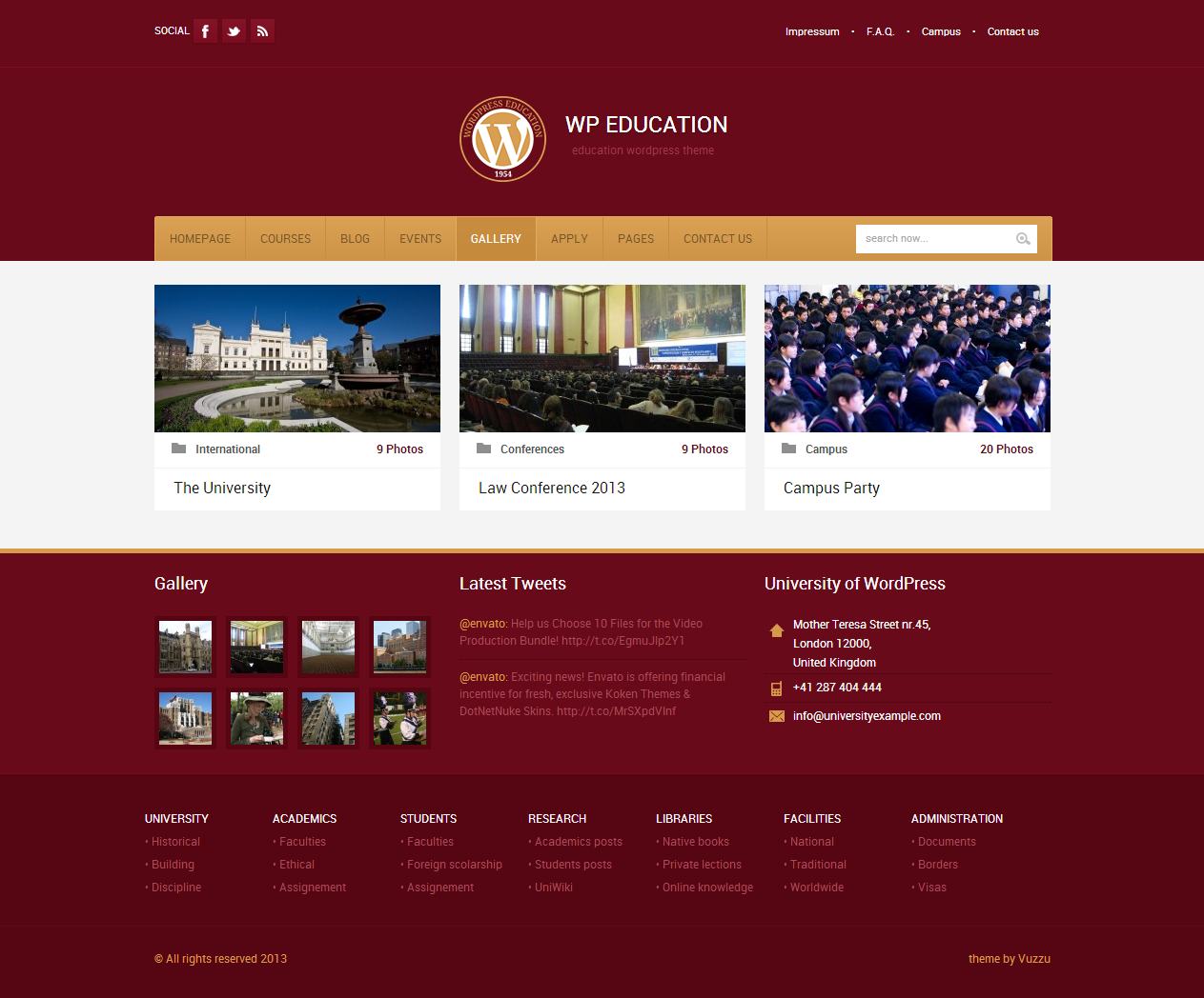 WP Education - Responsive, professional and powerful education theme ...
