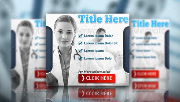 Medical Banner Set - Banners & Ads Web Elements