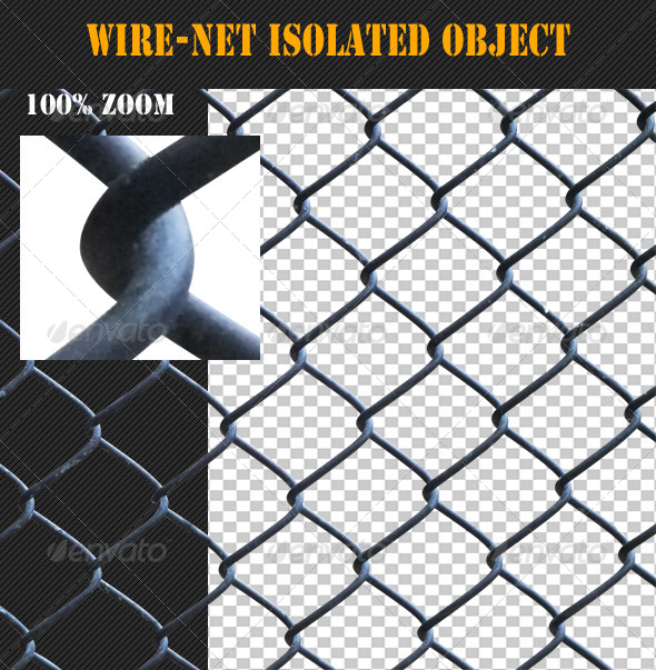 Wire-Net Isolated Object - Industrial & Science Isolated Objects