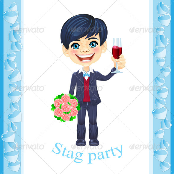 Stag Party Invitation - Weddings Seasons/Holidays
