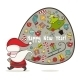 Santa Claus and Bag with Gifts - GraphicRiver Item for Sale