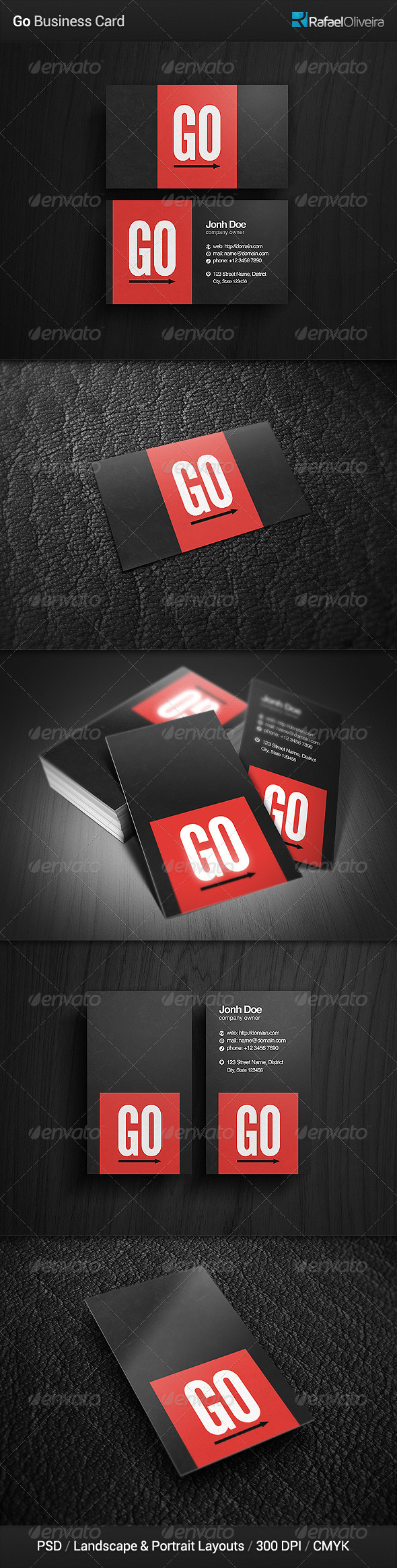 Go Business Card - Corporate Business Cards