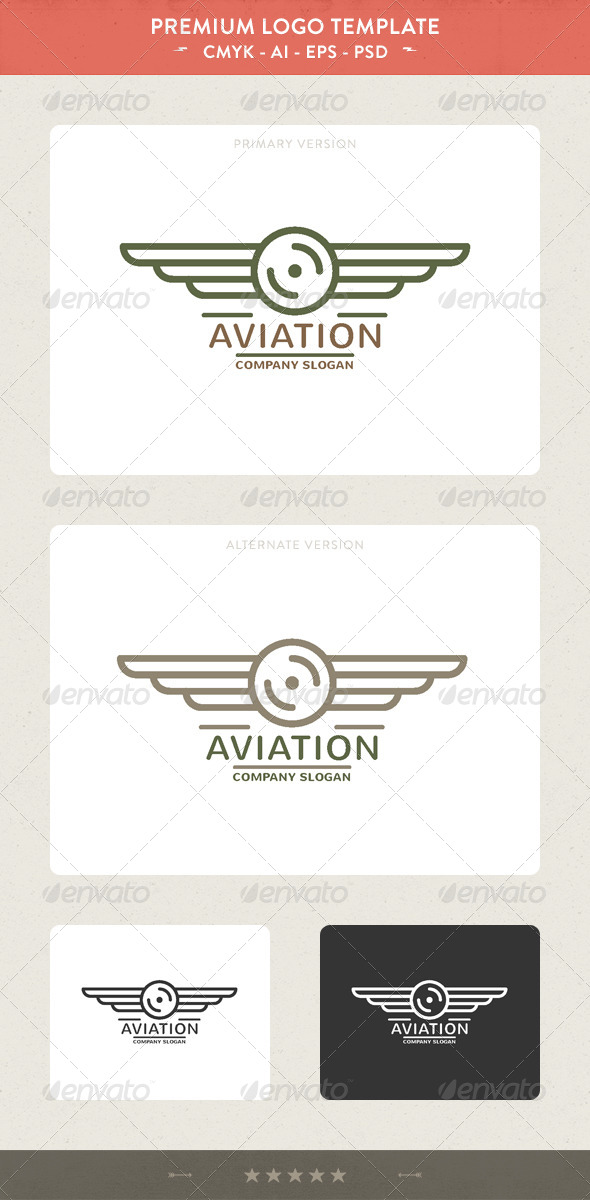 Aviation - Crests Logo Templates