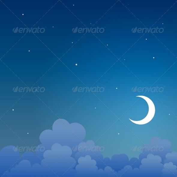 Good Night - Backgrounds Decorative