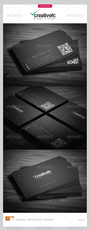 Corporate Business Cards 343 - Corporate Business Cards