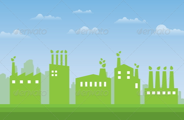 Green Industries - Buildings Objects