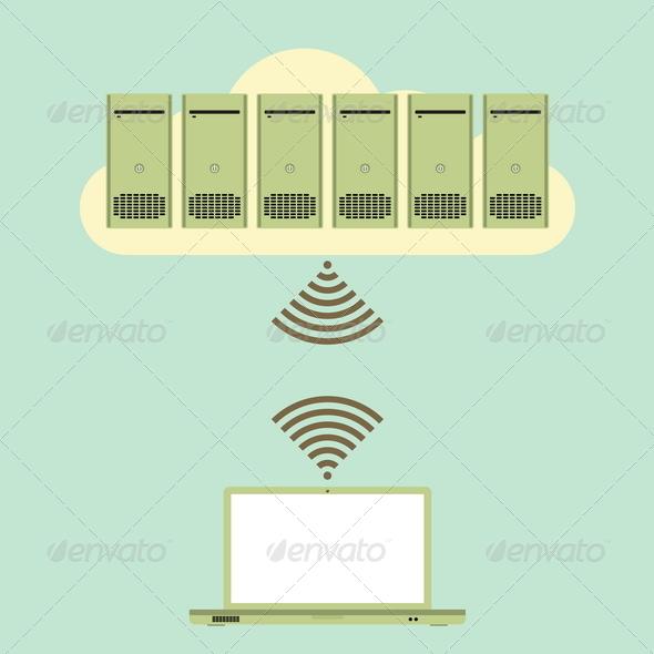 Large Cloud Database Access - Web Technology
