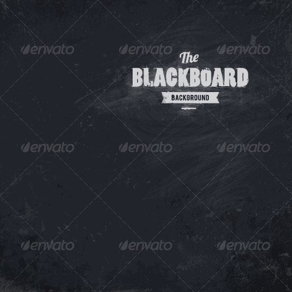 Blackboard Vector Background - Vectors