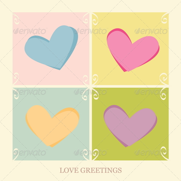 Love Greetings - Valentines Seasons/Holidays