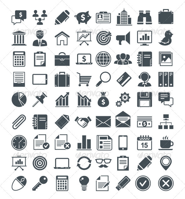 Set of Useful Vector Icons - Vectors