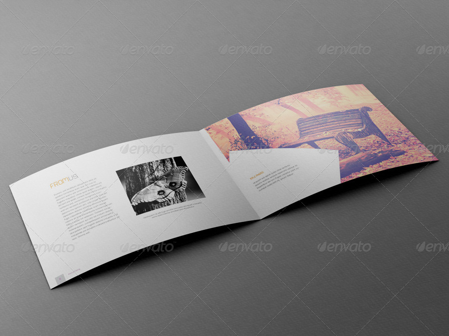 A4 horizontal catalog template by thirtypath graphicriver for Horizontal brochure template