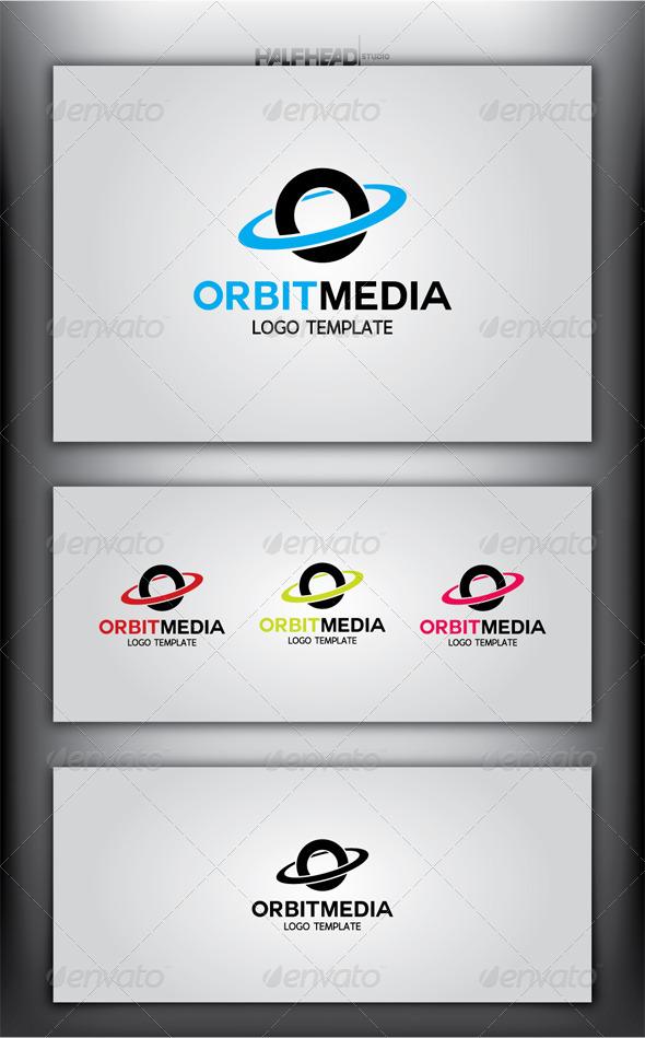 OrbitMedia Logo Template - Letters Logo Templates