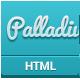 Palladium - Creative Responsive Portfolio - ThemeForest Item for Sale
