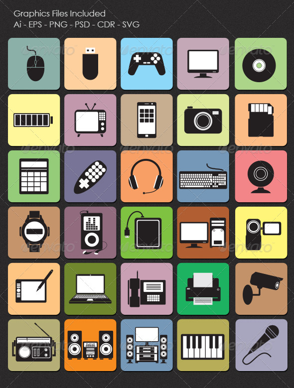 Technology Icons - Technology Conceptual
