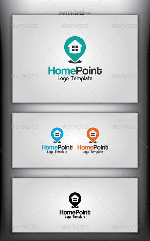 HomePoint Logo Template - Buildings Logo Templates