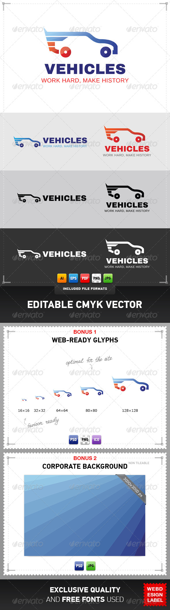 Vehicles Logo - Objects Logo Templates