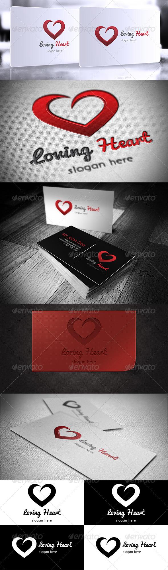 Loving Heart Logo - Symbols Logo Templates