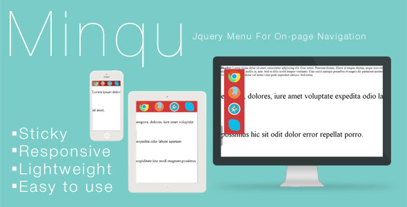 Minqu: Jquery Menu For On-page Navigation nulled free download