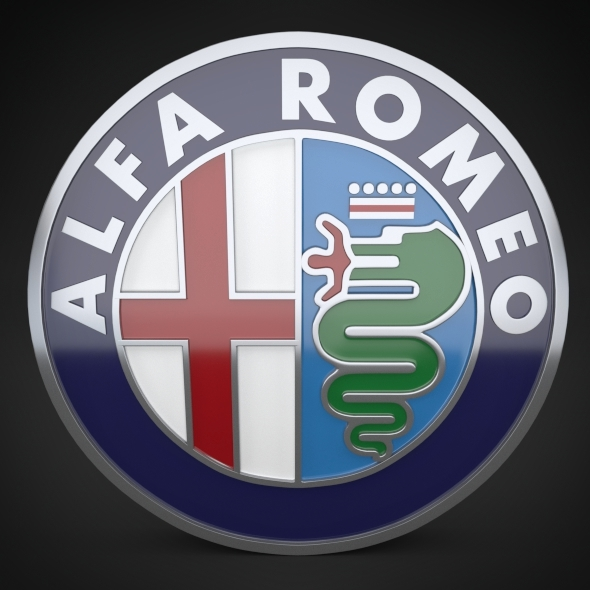 Alfa Romeo Logo - 3DOcean Item for Sale