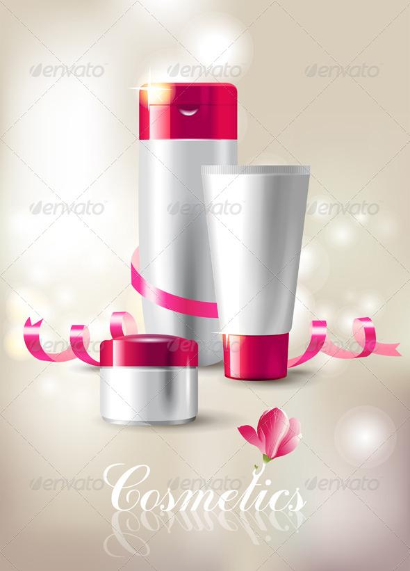 Cosmetics  - Objects Vectors