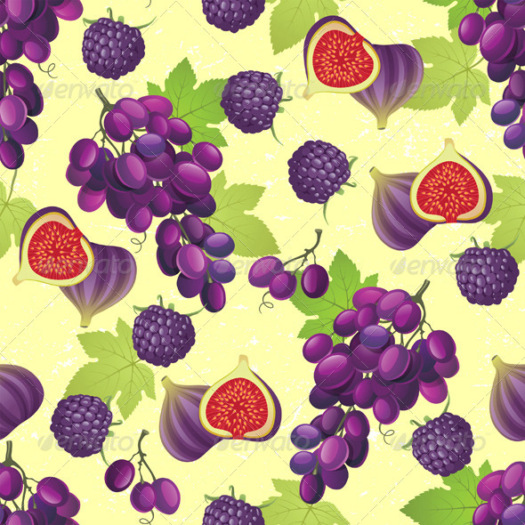 Fruit Seamless - Patterns Decorative