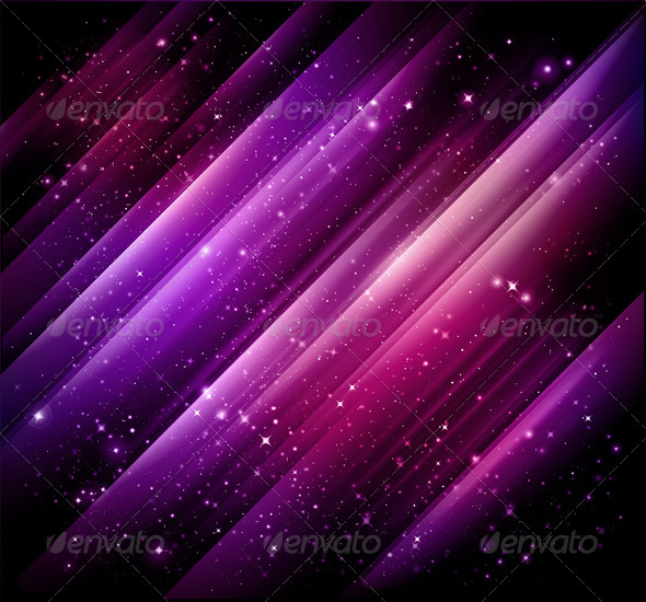 Abstract lights purple background - Vector + jpg - Backgrounds Business
