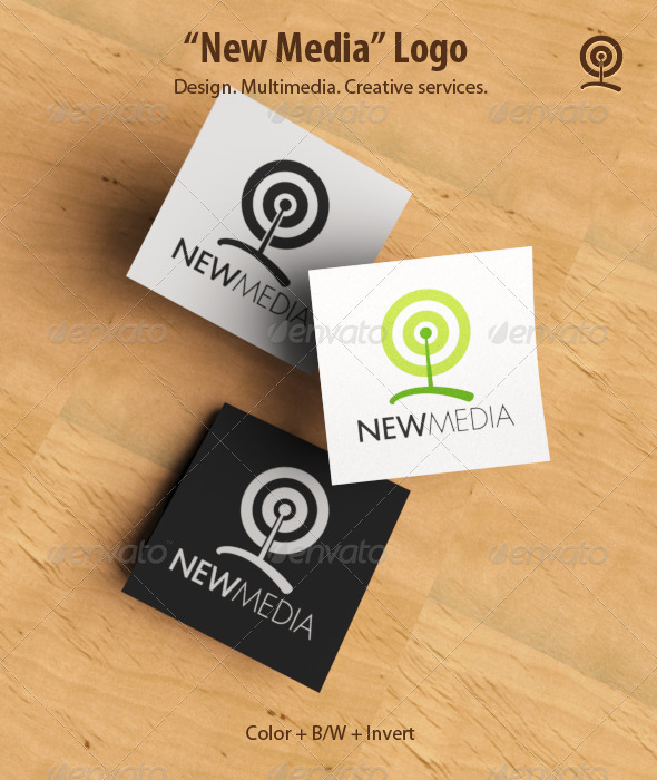 New Media Logo Template - Objects Logo Templates