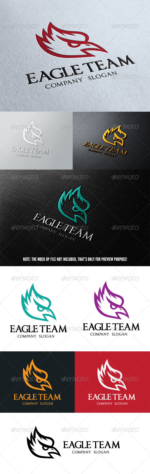 Eagle Team Logo - Crests Logo Templates