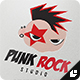 Punk Rock Logo - GraphicRiver Item for Sale