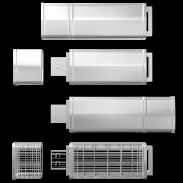 USB Flash Drive 04 - 3DOcean Item for Sale