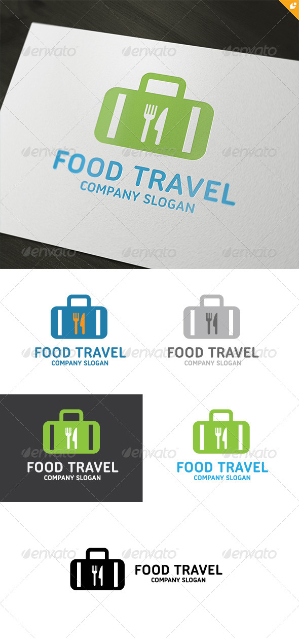 Food Travel  - Food Logo Templates