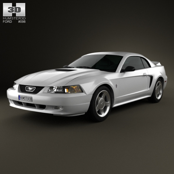 Ford Mustang GT coupe 1998 - 3DOcean Item for Sale