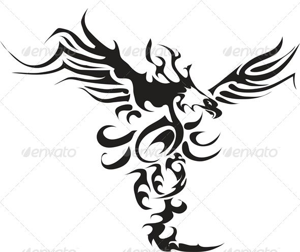 Eagle Tattoo - Animals Characters