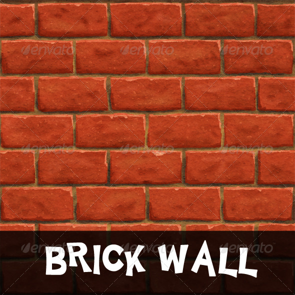 Tileable Brick Wall Texture