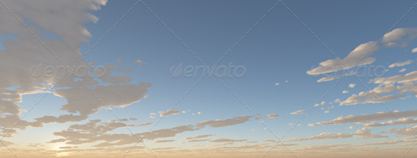 Cubemap Skybox - Bright Blue - 3DOcean Item for Sale