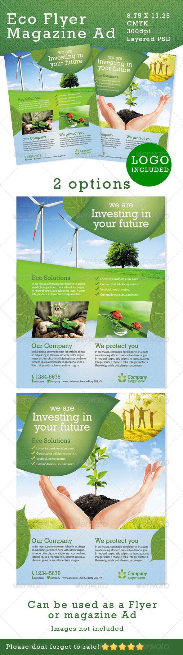Premium Eco Flyers - Corporate Flyers