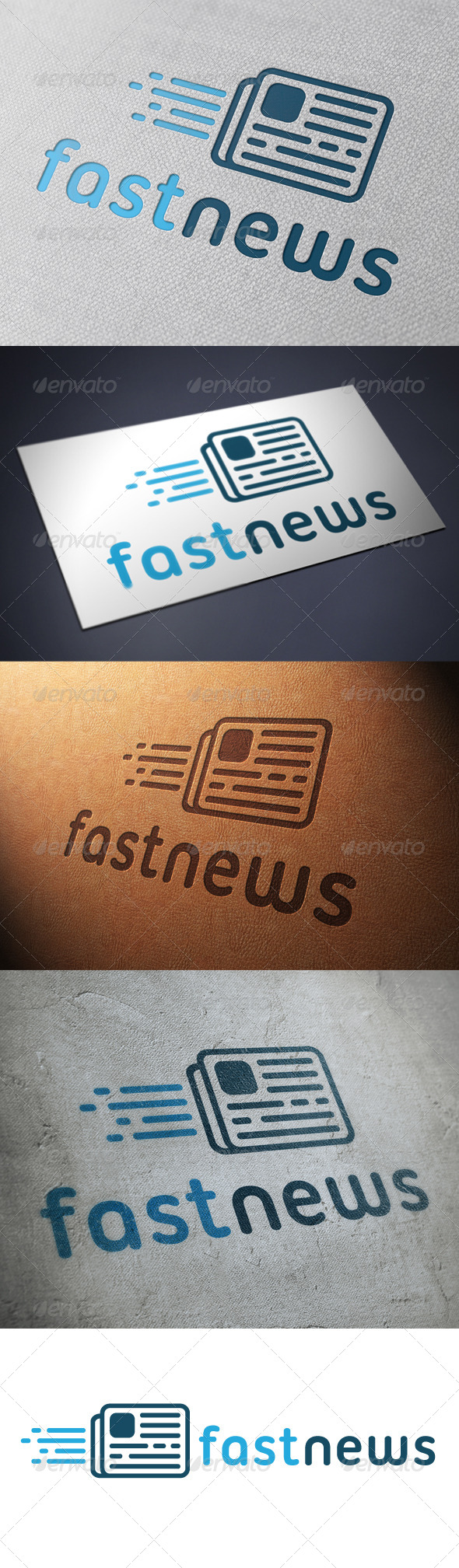 News Logo Template - Objects Logo Templates