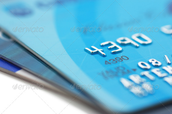 Credit cards - Stock Photo - Images
