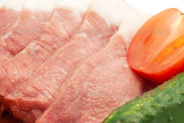 Meat and vegetables - Stock Photo - Images